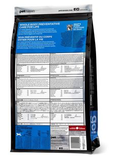 How to read the back of a pet food bag!