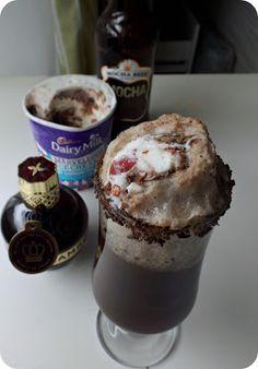 Friday Cocktail: Raspberry & Chocolate Beer Ice Cream Float | Vinspire