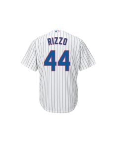 c50e9779259 Majestic Men s Anthony Rizzo Chicago Cubs Player Replica Jersey - White M  Cubs Players