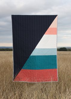 adore hopewell quilts. sad to see the duo close shop but good for them for knowing - it's time. | via  hopewellworkshop:   depthandlevity