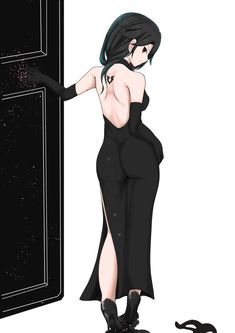 Cinder in a black dress   RWBY   Know Your Meme