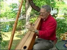▶ Beginner Harp Music Lessons : Example of Traditional Irish Harp Music - YouTube