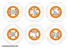 BB8 blueprint ver 1 | Here is a set of blueprints I prepared… | Flickr