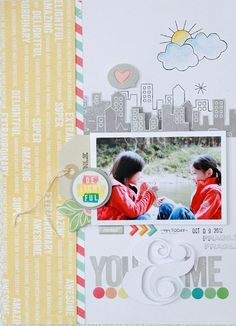 You & Me layout by michikok  - Two Peas in a Bucket