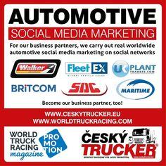 Český Trucker - monthly magazine for sales promotion — 📌 👌🏁🚚👍👇 Automotive social. Mobile Marketing, Sales And Marketing, Online Marketing, Social Media Marketing, Digital Marketing, Mercedes Benz Trucks, Volvo Trucks, Lifted Trucks, Semi Trucks