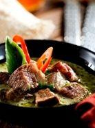 Sumputous Thai Green Curry Beef!