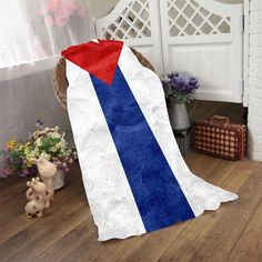 Cuba Flag Wallpaper Bath Towel 50100cm70140cm70150cm