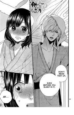 Kyouya-kun looks soo fine in that yukata! Ookami Shoujo To Kuro Ouji 34 Page 41