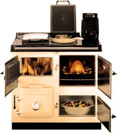 wood-burning cooker - the number one must-have for my kitchen!!