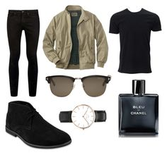 """""""Street Style"""" by catherine-chapman on Polyvore featuring Topman, Tom Ford, Daniel Wellington, Chanel, men's fashion and menswear"""