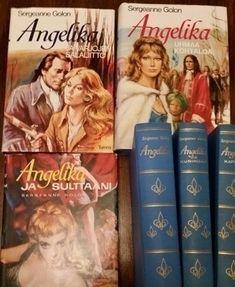 Teini-ikäisen kirjastokassiin löysivät usein tiensä nämä Angelika-sarjan kirjat... (Kuva Huutonet: Foke_78) Teenage Years, Back In Time, Old Toys, Nostalgia, Old Things, Childhood, Memories, Retro, Tv