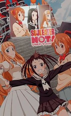 Soul Eater NOT !    Do you see this anime ?? :)