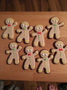 Gingerbread Cookies, Desserts, Food, Bakken, Tailgate Desserts, Ginger Cookies, Deserts, Meal, Eten
