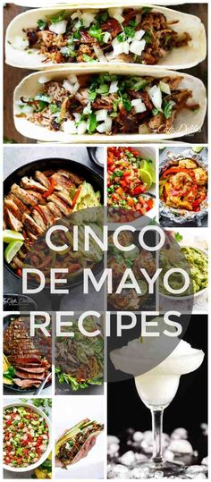 It's that time of the year again! We have an excuse to drink Margaritas and eat guac all day! With Cinco de Mayo is around the corner, we have rounded up the most incredible collection of Cinco De Mayo Recipes...ever!