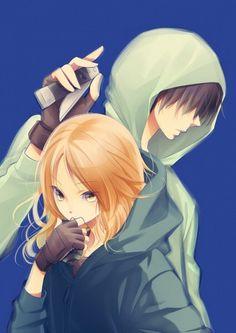 Ansatsu Kyoushitsu - Snipers // Hayami Rinka and Chiba Ryuunosuke...