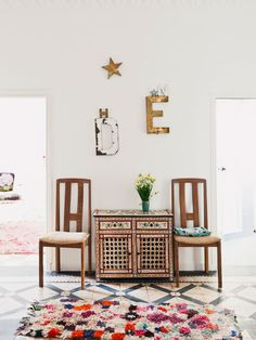 Inside a Casual Tangier Flat