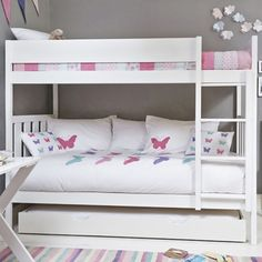 GLTC SAVE £125, Buy Bright White Darwin Bunk Bed and It is every kids dream to have a bunk bed to make cosy dens in and sometimes for the occasional sleep! They will be over the moon with this stunning Darwin Bunk Bed with a classic, definitive design a http://www.comparestoreprices.co.uk/bunk-beds/gltc-save-£125-buy-bright-white-darwin-bunk-bed-and.asp