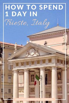 How To Spend 1 Perfect Day In Trieste · Discover how to spend 1 day in charming Trieste, Italy.  If you are looking to escape reality and get lost in a picturesque setting, then Trieste is the place for you! The city's historic castles, delicious cuisine, and captivating streets are sure to leave you wanting more.