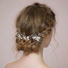 3Pcs/Set Fashion Women Hairpin Simulate Pearl Hair Pin Ladies Girls Hairwear Wedding Bridal Hairstyles Hairs Accessories @M23 #WeddingHairstyles