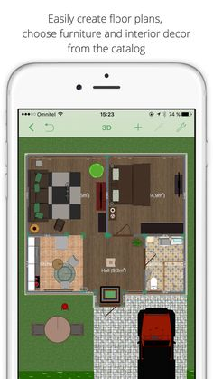 App For IPhone. Design Your Dream Home Right On Your IPhone With An Easy  To. Create Floor PlanHouse ...