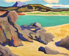 Iona Landscape after Samuel Peploe