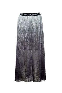 Pantalone skinny con zip donna Nero Liu jo Berton Magazzini