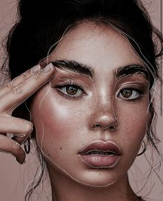 Illustration Art Fashion Portraits 19 Ideas For 2019 Creative Photography, Portrait Photography, Fashion Photography, Digital Foto, Fandoms, Photo Illustration, Landscape Illustration, Girl Illustrations, Photography Illustration