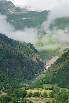 Georgia's Caucasus Mountains by Henning(i), via Flickr