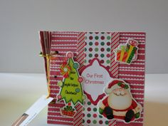 Our First Christmas Keepsake Book