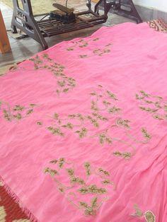 #ADH  Pre fall  Wedding saree embroidery detail