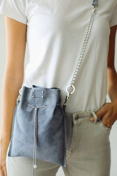 Leather Fanny Pack Sky Blue Blue Bag Suede Pouch Suede Handbag Gift For her Blue Cross Body Bag Leather Bag Leather Pouch Leather Bag Small Leather Bag Handmade Leather Bag Bags and Purses Womens Leather Purse convertible pouch leather bucket bag Leather Fanny Pack, Leather Pouch, Suede Leather, Blue Bags, Blue Purse, One Bag, Stitching Leather, Shoulder Bag, Trending Outfits