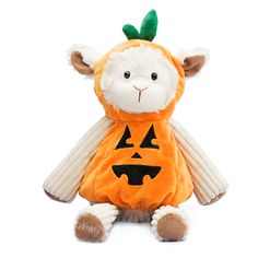 Scentsy Buddy Clothes Pumpkin Costume $10 One boo-ready Buddy coming up! This adorable getup (modeled here by Lenny the Lamb; sold separately) fits most Scentsy Buddies, so go ahead and splurge. Wipe with a damp cloth to clean.