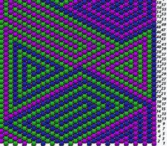 Peyote Stitch Free Geometric Design Patterns