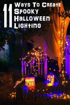11 Ways To Create Spooky Halloween Lighting