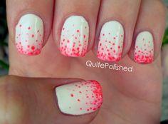 Stippled nails