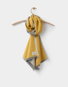 BNWT JOULES SCARF Ladies Soft Handle Oblong SCARF Pale Blue LUXTON