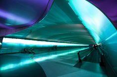 concourse tunnel in detroit