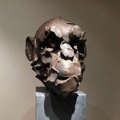 Lucid - bronze - 53 cm par Catherine Thiry