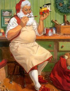 Santa by Charles Pyle