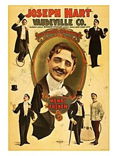 1804 - Joseph Hart, Vaudeville Poster