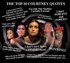 Top 10 Courtney Quotes... #The Bachelor #Courtney