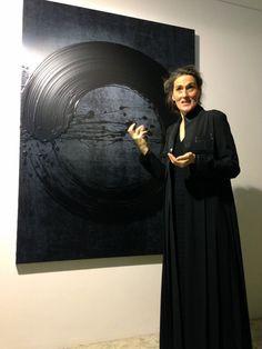 Fabienne Verdier - Singapur Source by . Abstract Expressionism, Abstract Art, Action Painting, Diy Painting, Art Japonais, Zen Art, Oeuvre D'art, Art Studios, Artist At Work