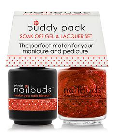 Go for the Marigold Gel Polish & Nail Lacquer Buddy Pack #zulily #zulilyfinds