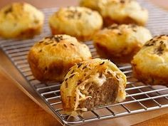 Recipe, grocery list, and nutrition info for Rachel Meatball Poppers. A popular sandwich is easily transformed into delicious meatball appetizers with help from Pillsbury refrigerated crescents. Finger Food Appetizers, Appetizer Dips, Finger Foods, Appetizer Recipes, Snack Recipes, Cooking Recipes, Meatball Appetizers, Tapas Recipes, Kid Recipes