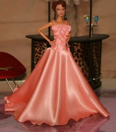 APHRODAI Silkstone Barbie Fashion Royalty Evening Dress Outfit Gown Handmade Z9 | eBay