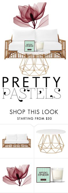 """""""Pretty Pastel"""" by harley-monkey ❤ liked on Polyvore featuring interior, interiors, interior design, home, home decor, interior decorating, Serena & Lily and Henri Bendel"""