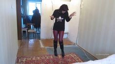 Dancing-Butts: Natalia tanzt in Stiefel + Leggings (dancing in boots and...