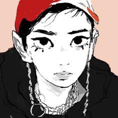 my art Pretty Art, Cute Art, Arte Cyberpunk, Arte Sketchbook, Art Reference Poses, Psychedelic Art, Gravure, Character Design Inspiration, Animes Wallpapers
