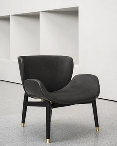 Leather Armchair Jorgen Baxter