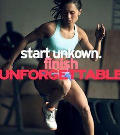 Finish unforgettable. #motivation #motivationnation #unforgettable #vitaminshoppecontest